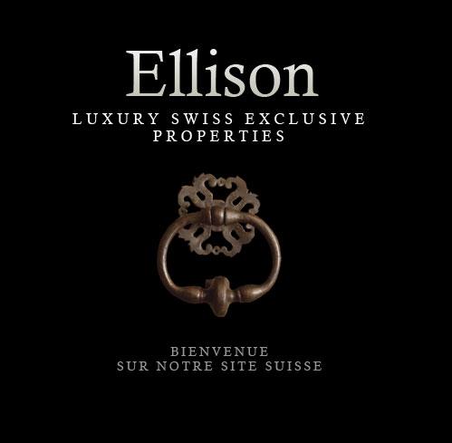 Ellison est une agence spécialisée en biens immobiliers de prestige situés en Suisse